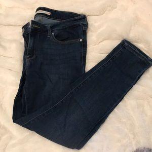 Levi's dark 711 skinny jeans